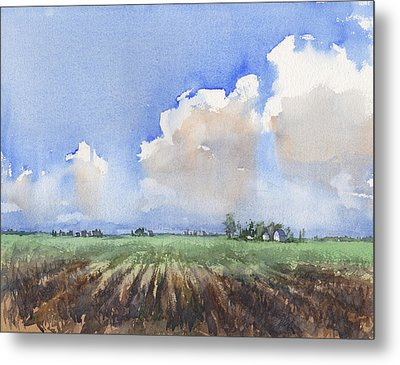 Countryside Metal Print by Max Good
