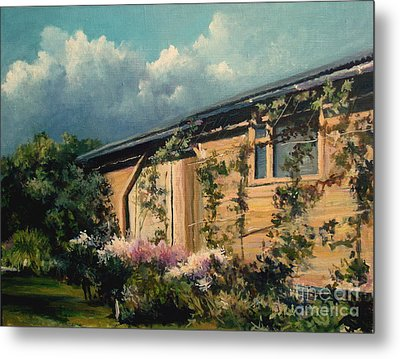 Countryside Summer Metal Print by Mikhail Savchenko