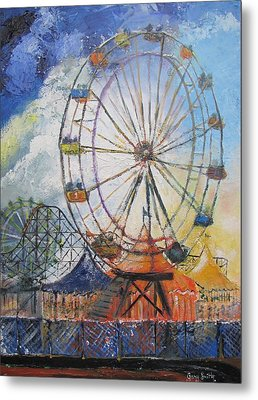 County Fair Metal Print by Gary Smith
