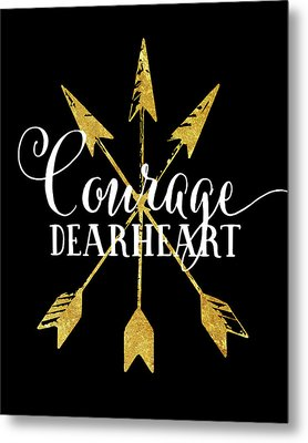 Courage Dearheart Metal Print
