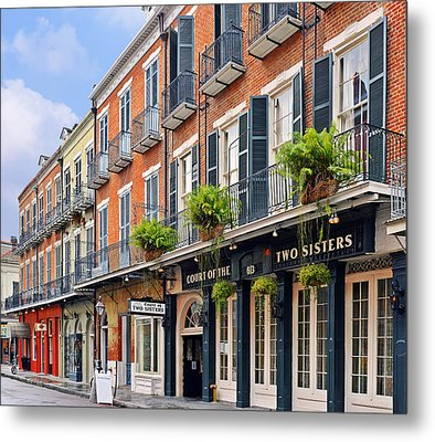Court Of Two Sisters New Orleans Metal Print by Christine Till
