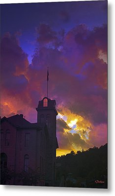 Courthouse Metal Print by Kat Besthorn