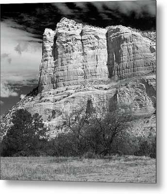 Metal Print featuring the photograph Courthouse Rock by Harold Rau