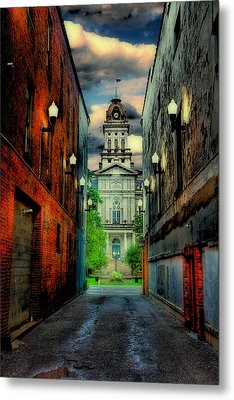 Courthouse Metal Print by Tom Mc Nemar