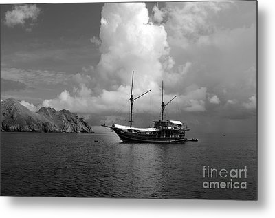 Metal Print featuring the photograph Cove  by Sergey Lukashin