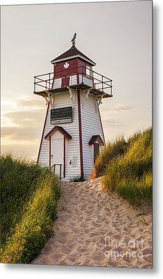 Covehead Harbour Lighthouse Metal Print by Elena Elisseeva