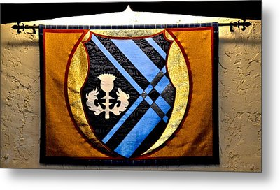 Covenant College Tartan Metal Print by Tara Potts