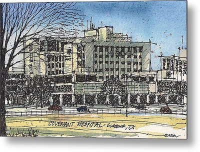 Covenant Hospital Metal Print