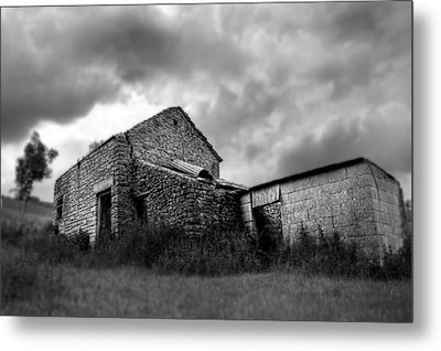 Metal Print featuring the photograph Cow Shed by Stewart Scott