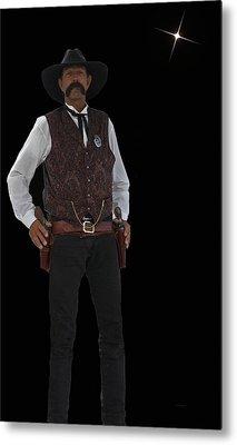 Cowboy Bill Metal Print