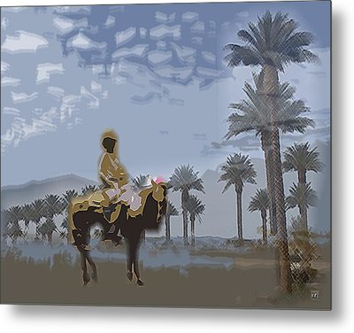 Cowboy Metal Print by Kelly McManus