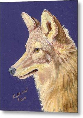 Coyote 2 Metal Print