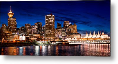 Crab Park At Portside Metal Print