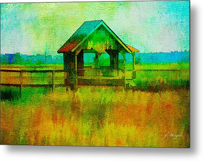 Crab Shack Pawleys Island Metal Print