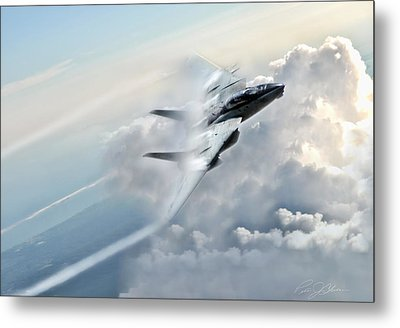 Crack The Sky Metal Print