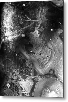 Cradle Of Stress  Metal Print by Empty Wall