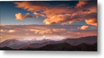 Metal Print featuring the photograph Craggy Snow by Joye Ardyn Durham