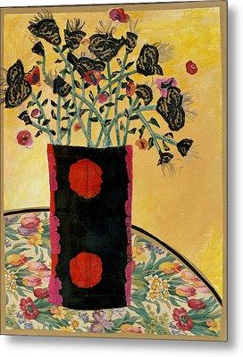 Cranberry Bouquet Metal Print by Diane Fine