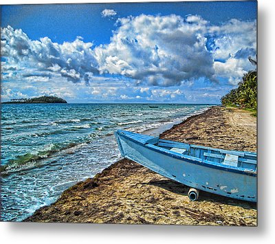 Crash Boat Metal Print