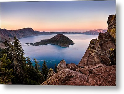 Crater Lake National Park Metal Print by Alexis Birkill