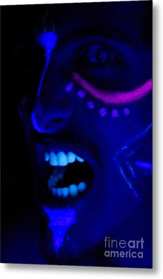 Crazed Hunger Metal Print