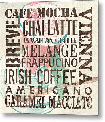 Cream Coffee Of The Day 1 Metal Print by Debbie DeWitt