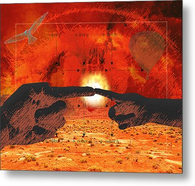Creation. Metal Print