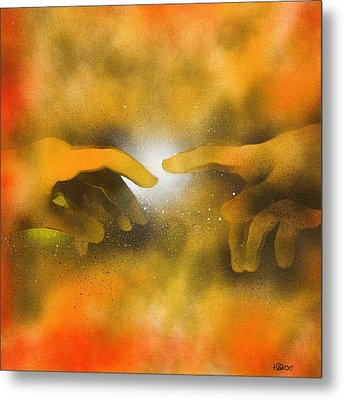 Creation Metal Print by Hakon Soreide