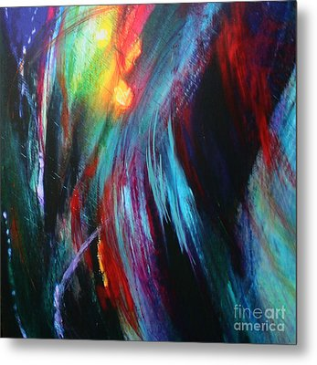 Metal Print featuring the painting Creation by Jeanette French