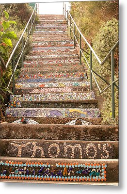 Creative Steps Metal Print