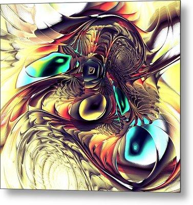 Creature Metal Print by Anastasiya Malakhova