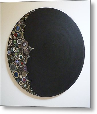 Crescent Moon Metal Print