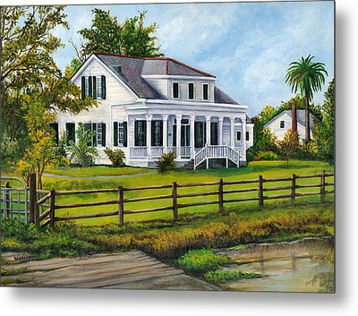 Creedmoor Plantation Metal Print by Elaine Hodges