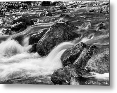 Metal Print featuring the photograph Creek by Beverly Parks