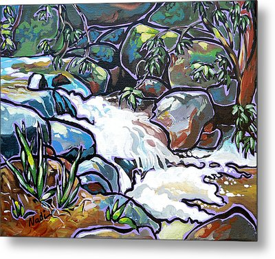 Creek Metal Print by Nadi Spencer