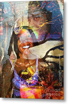 Creolization - Descendants Surviving Tribalism Metal Print by Fania Simon
