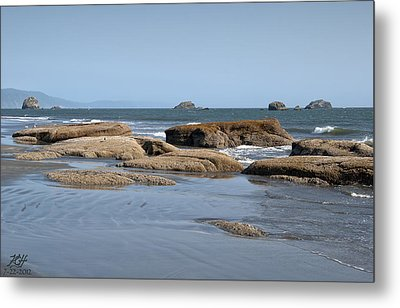 Crescent City Metal Print by Kenneth Hadlock