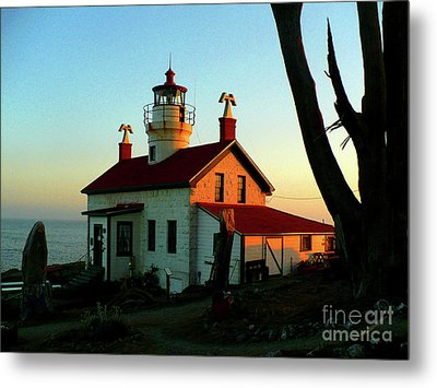 Crescent City Lighthouse Metal Print by Chad Rice