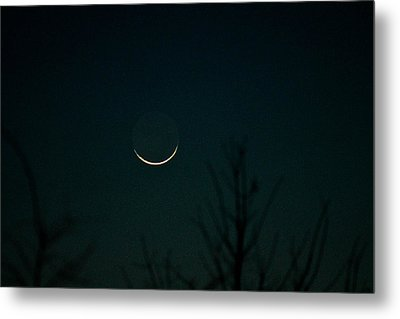 Crescent Moon Metal Print by Jessica Brown