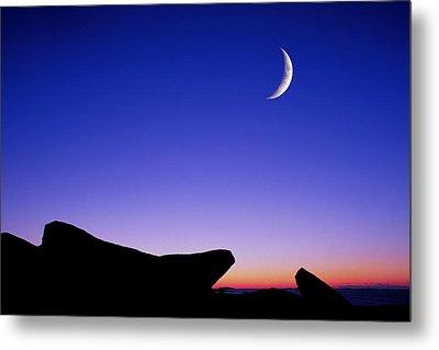 Crescent Moon Halibut Pt. Metal Print