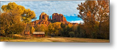 Crescent Moon Ranch Metal Print by Guy Schmickle