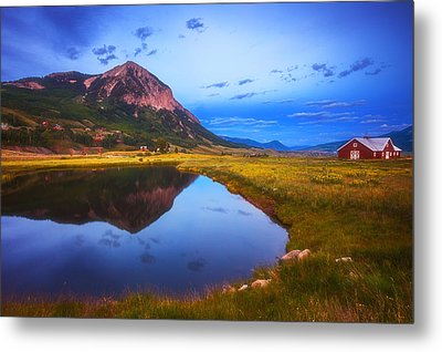 Crested Butte Morning Metal Print by Darren  White