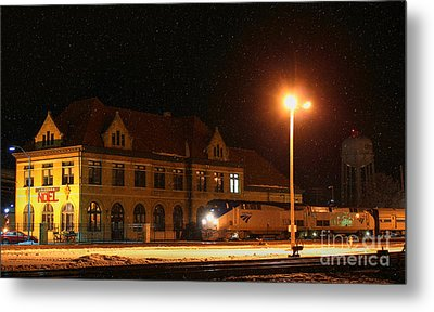 Creston Depot Metal Print by Thomas Danilovich