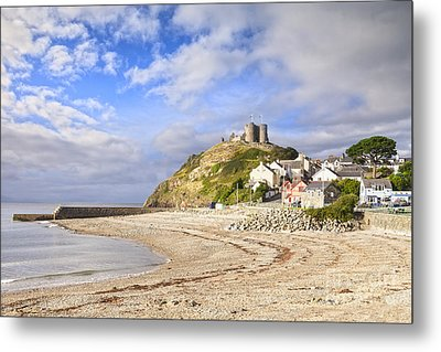 Criccieth Castle North Wales Metal Print by Colin and Linda McKie