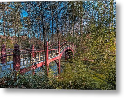 Metal Print featuring the photograph Crim Dell Bridge by Jerry Gammon