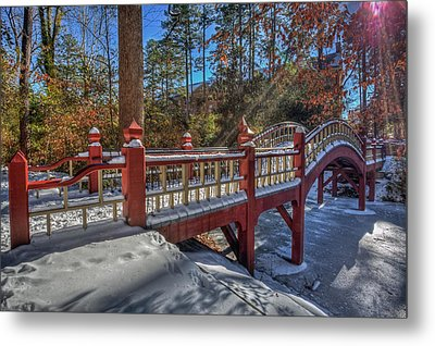 Crim Dell Bridge William And Mary Metal Print
