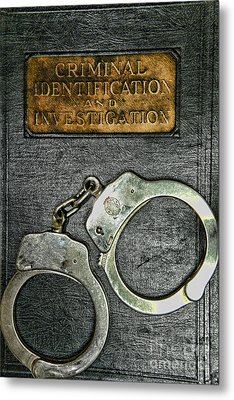 Crime Scene Investigation Metal Print by Paul Ward