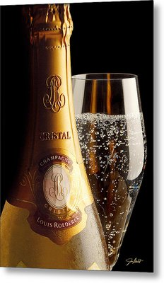 Cristal Party Metal Print by Jon Neidert
