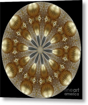 Cristmas Decor Metal Print by Lena Photo Art