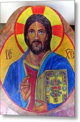 Cristo Pantocrator Metal Print